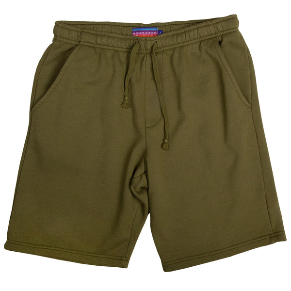 BOARD HEAD SWEAT SHORTS (OLIVE)