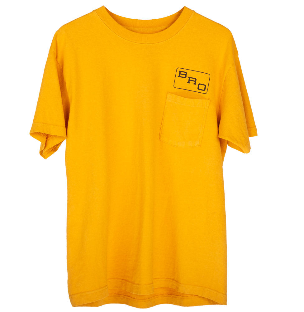 BRO POCKET TEE (SUNSET GOLD)