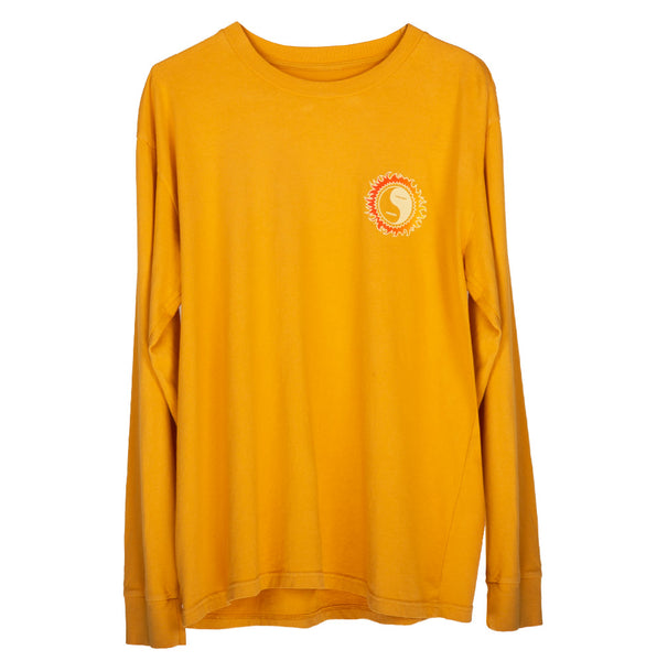 YING YANG LS TEE (SUNSET GOLD)