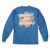 Mahalo Hibiscus Long Sleeve Tee (Atlantic)