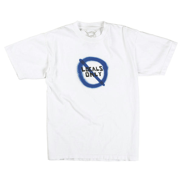 Deaths to Locals Tee (White)