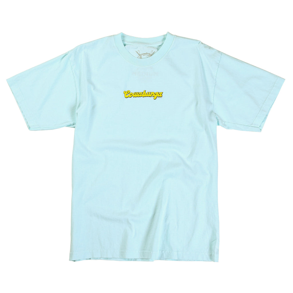 Cowabunga Tee (Pale Blue Dot)