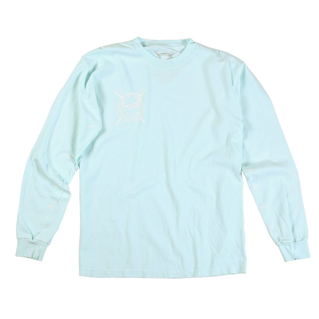 Single Boardhead Long Sleeve Tee (Pale Blue Dot)