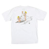 Party Wave Tee (White)