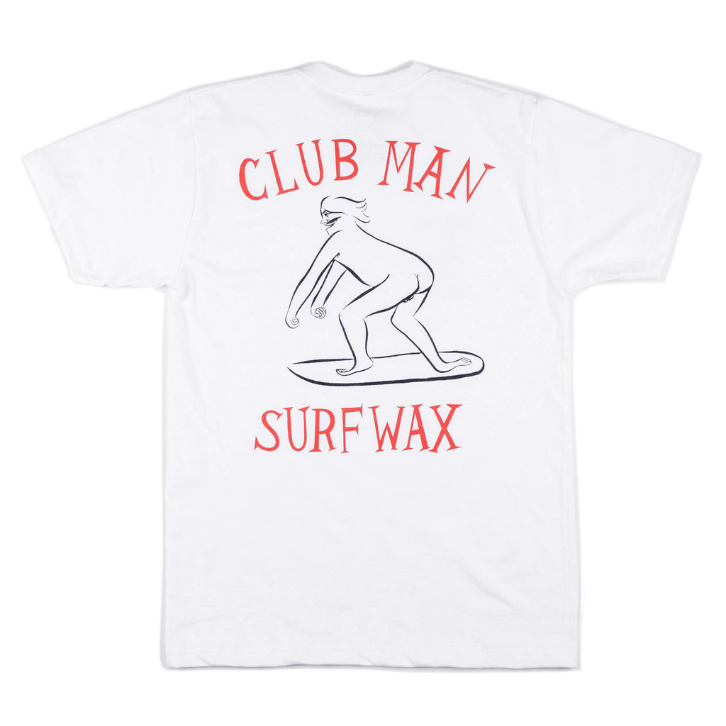 Club Man Tee (White)