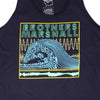 Wave Tank Top (Navy)