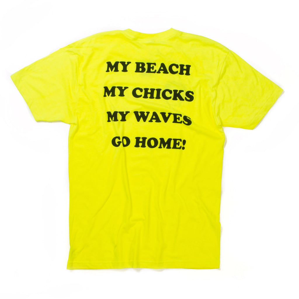 My Beach Tee (Neon Yellow)