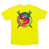 Board Head Tee (Neon Yellow)