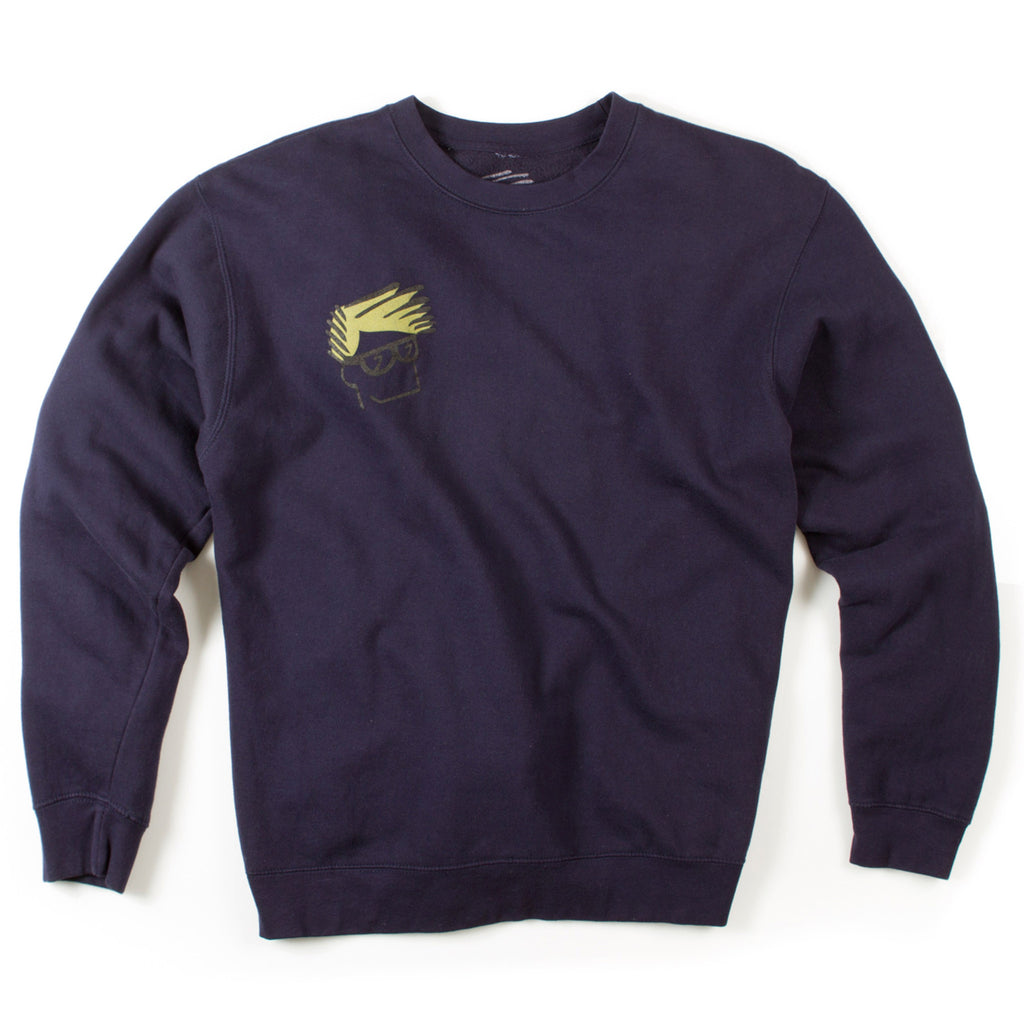 100% Pullover Fleece (Navy)