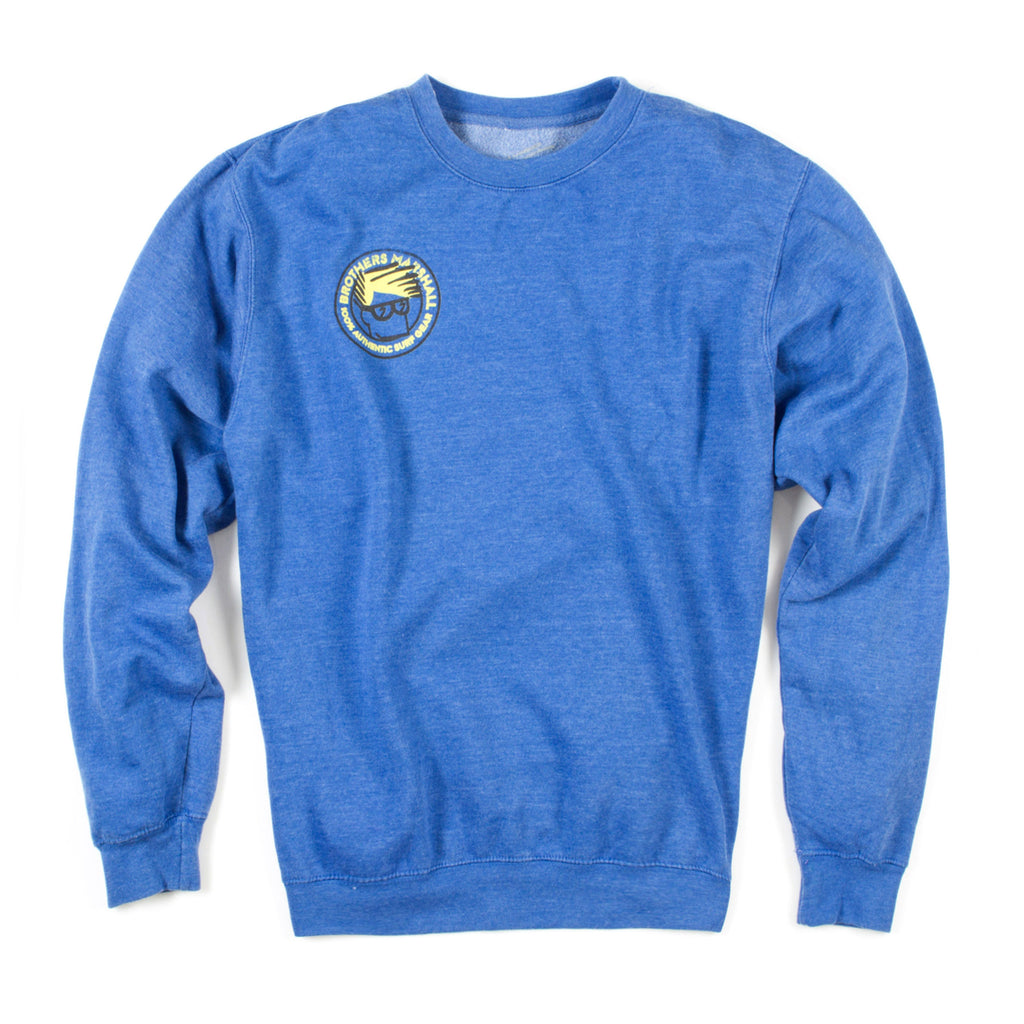 Head Crewneck (Royal Blue Heather)