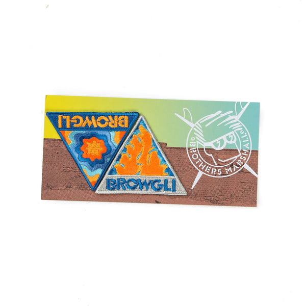 BROWGLI Iron-on Patch Set