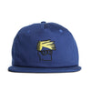 Head Snapback Cap (Blue)