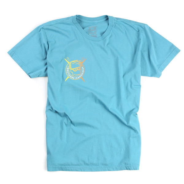 Boardhead Gradient Tee (Overdyed Teal)