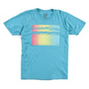 Gradient Wave Tee (Teal)