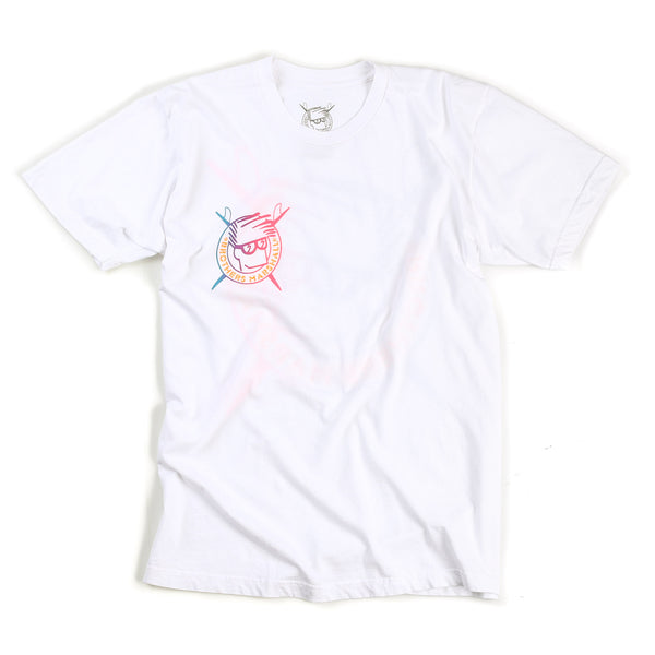 Boardhead Gradient Tee (White)
