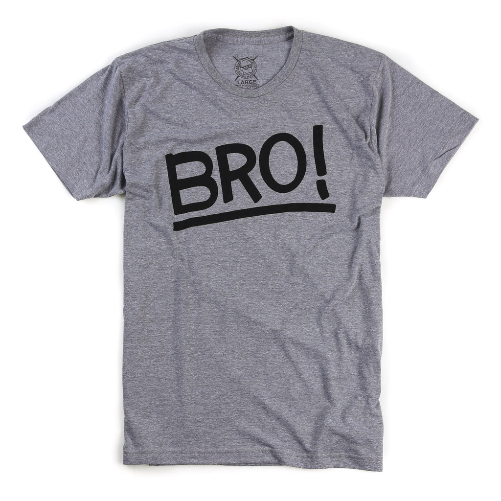 Neu Bro Tee (Tri Blend Heather)