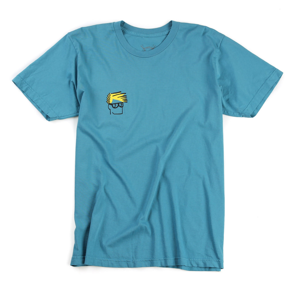 Head Tee (Overdyed Teal)