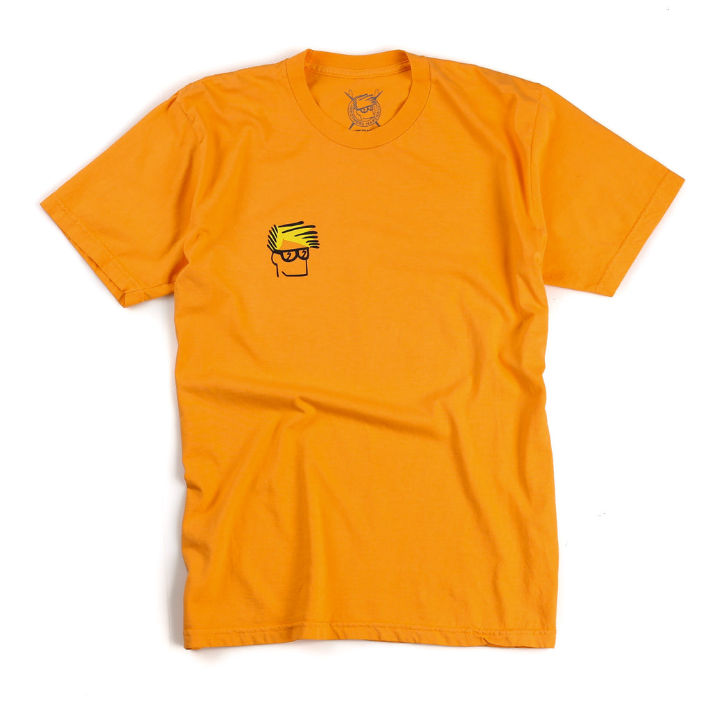 Head Tee (Overdyed Orange)