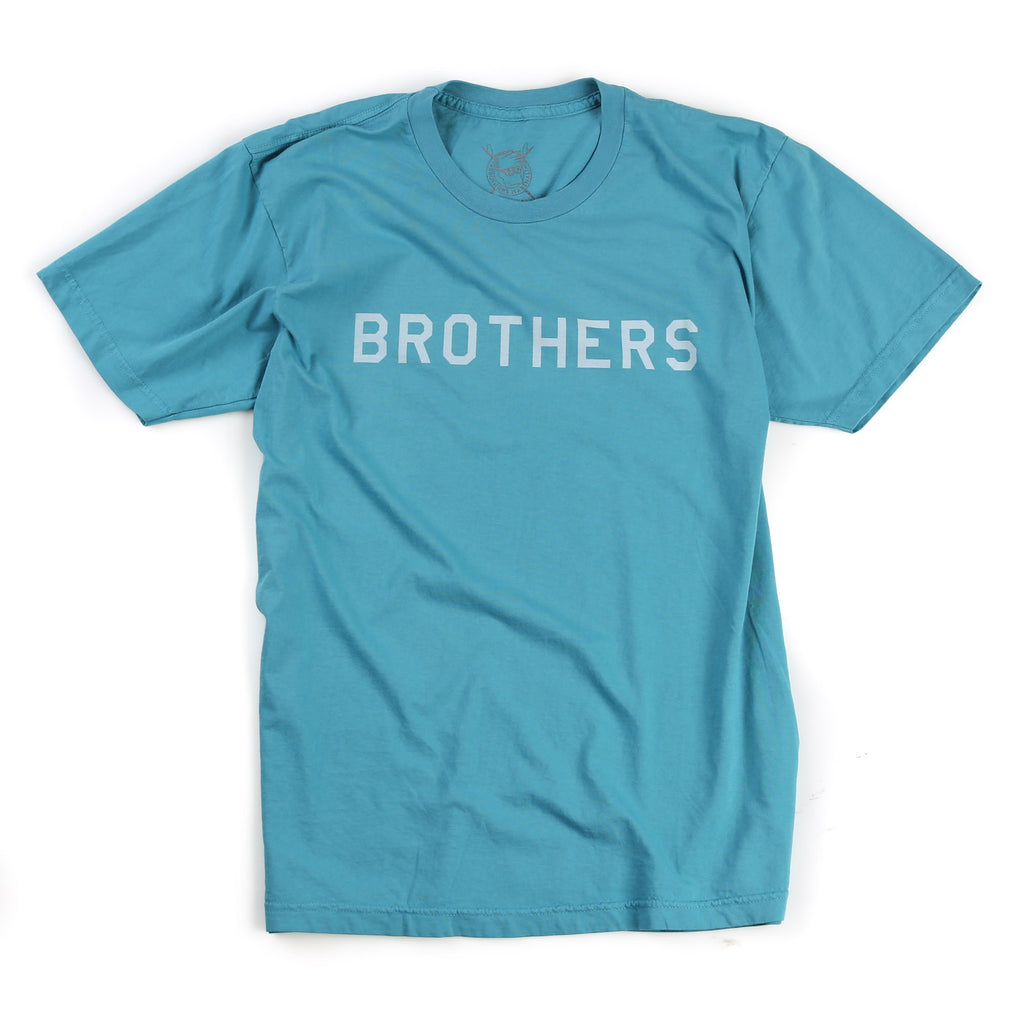 Brothers Tee (Overdyed Teal)