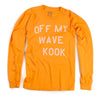 Off My Wave Long Sleeve Shirt (Overdyed Orange)