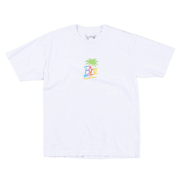 Bro Palm Tee (White)