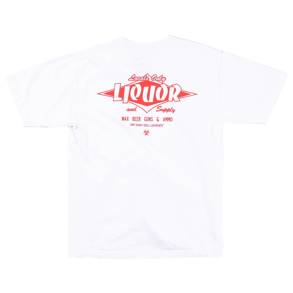 Locals Only Liquor Tee (White)