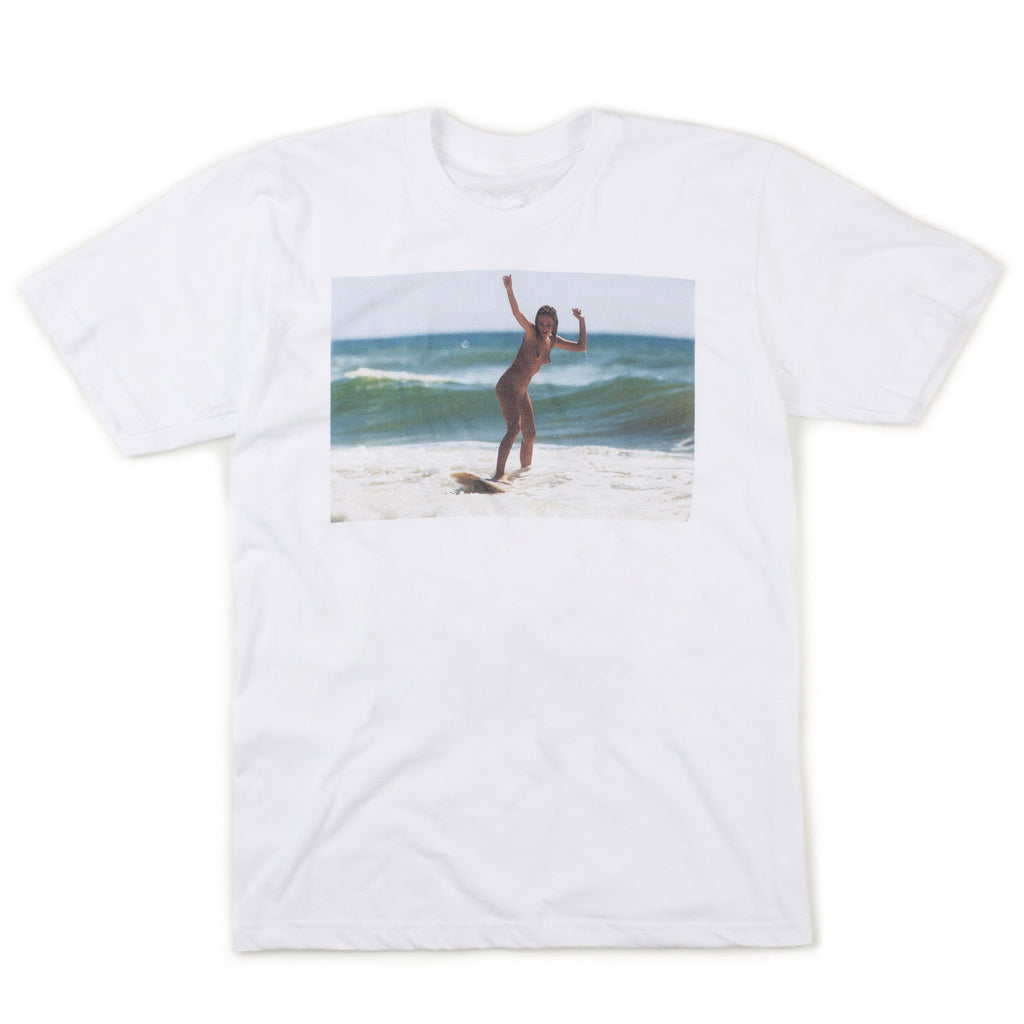 Naked Girl Tee (White)