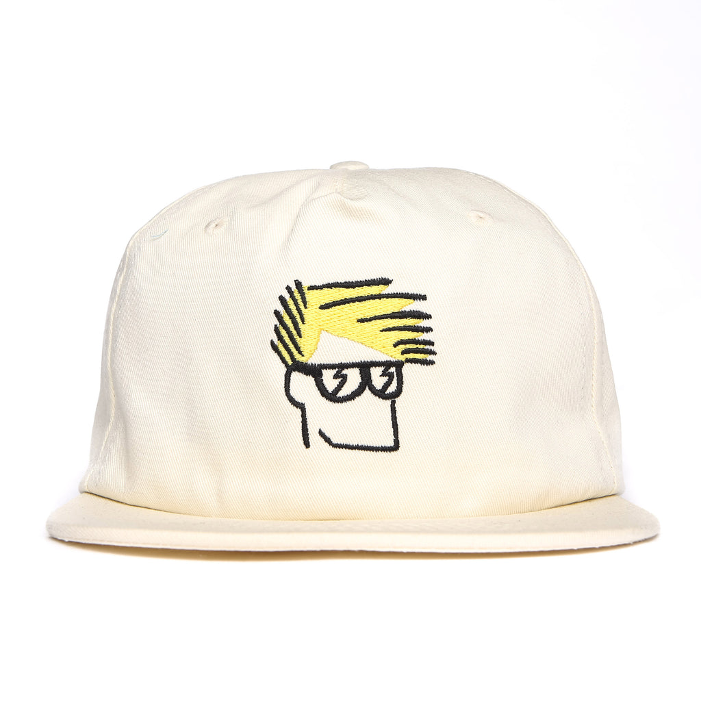Head Snapback Cap (White)
