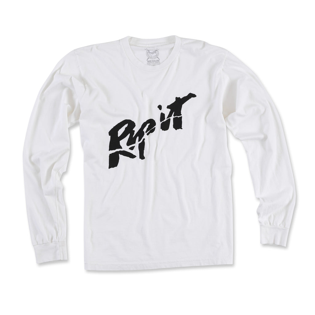 Rip It Long Sleeve Tee (White)