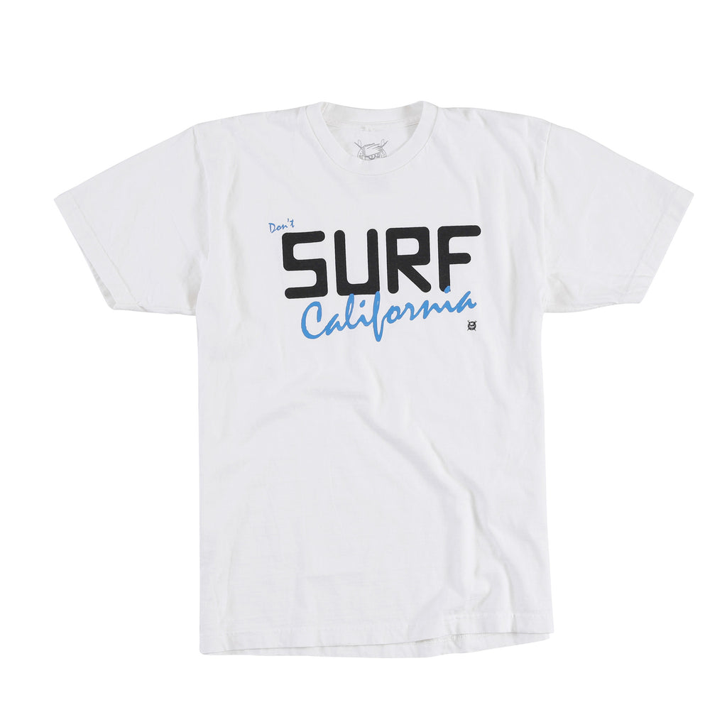 Don't Surf L.A. Tee (White)