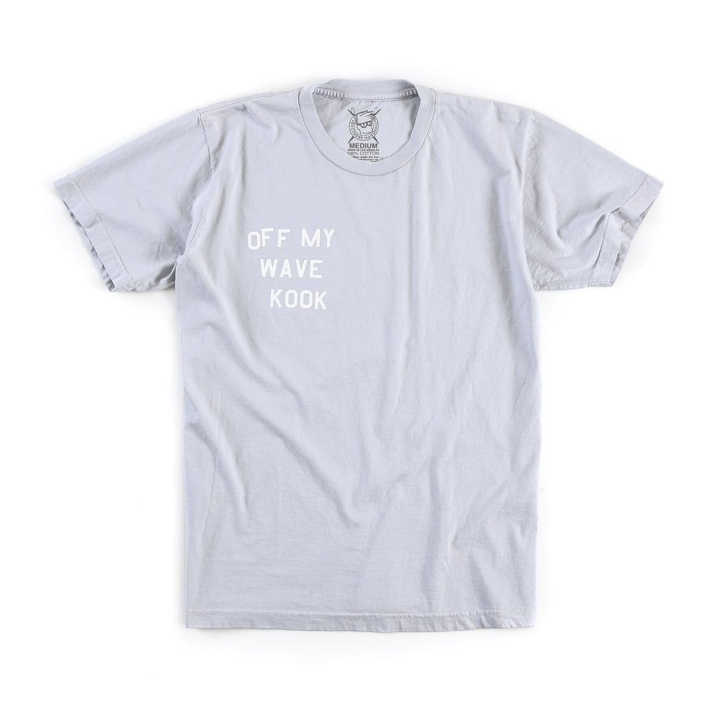 Off My Wave Tee (Silver)