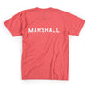 Brothers Stencil Tee (Coral)
