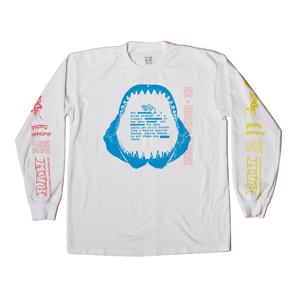 BRO X DES RAW LONG SLEEVE WHITE