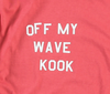 Off My Wave Tee (Coral)
