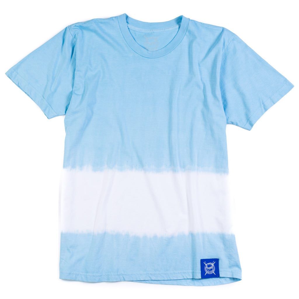 Stripe Wash Tee (Light Blue)