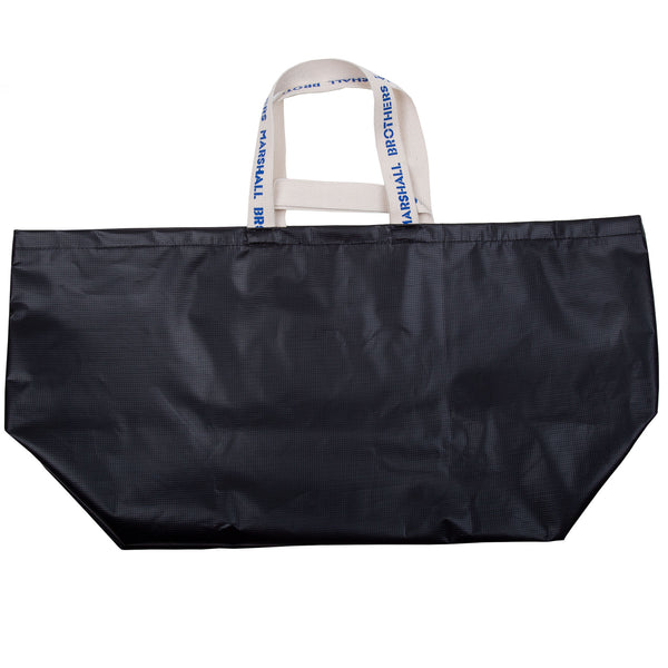 RECYCLED VINYL CHANGING BAG (BLACK)