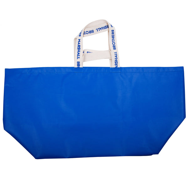 RECYCLED VINYL CHANGING BAG (BLUE)