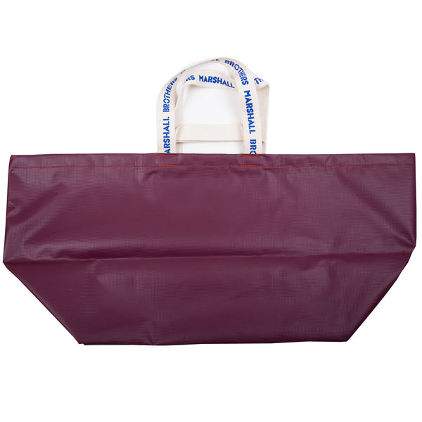 RECYCLED VINYL CHANGING BAG (PURPLE)