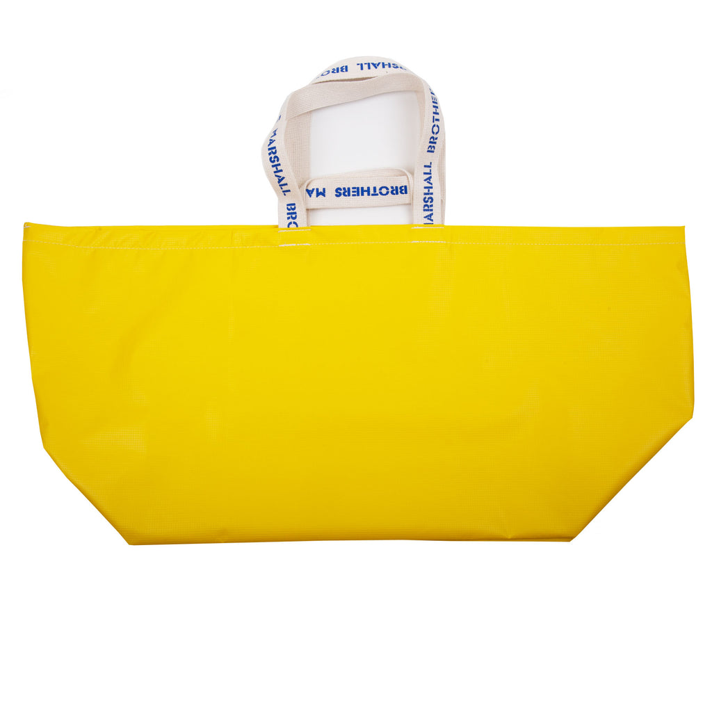 RECYCLED VINYL CHANGING BAG (YELLOW)