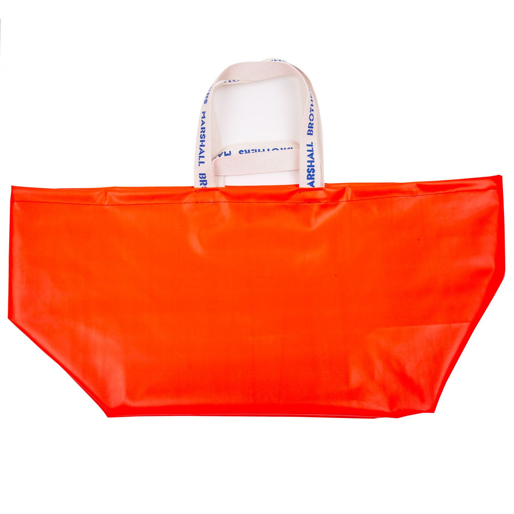RECYCLED VINYL CHANGING BAG (ORANGE)