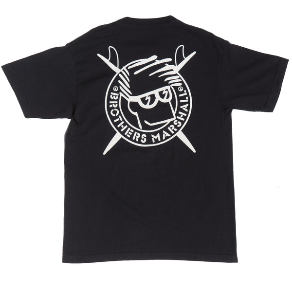 BOARD HEAD TEE BLACK
