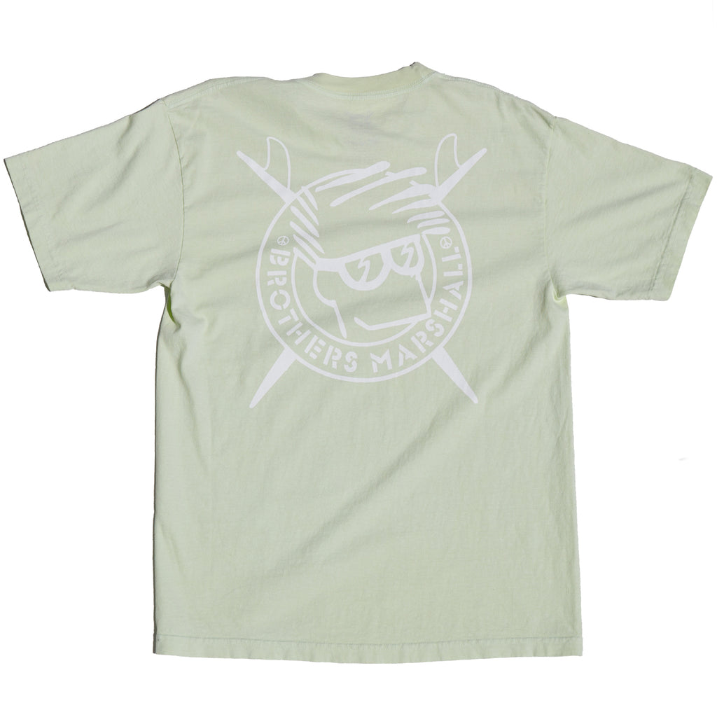 BOARD HEAD TEE LIME