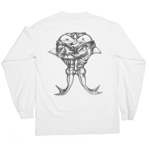 BRO x DOY LONG SLEEVE WHITE