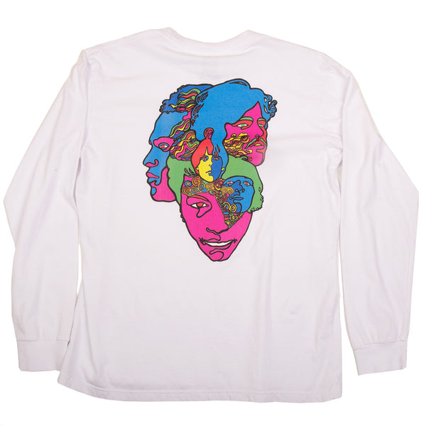 LOVE FOREVER CHANGES LONG SLEEVE (WHITE)