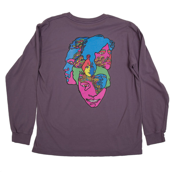 LOVE FOREVER CHANGES LONG SLEEVE (DEEP LAVENDER)