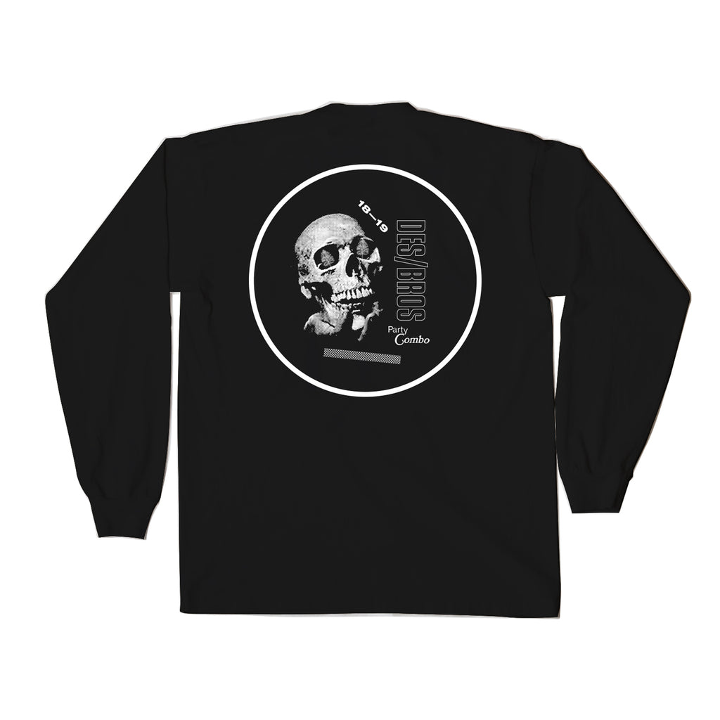 BRO X DES PARTY COMBO LONG SLEEVE BLACK