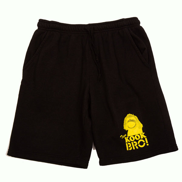 TEAM KOOK BRO! SWEAT SHORTS (BLACK)
