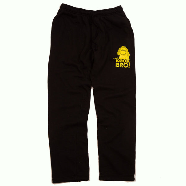 TEAM KOOK BRO! SWEAT PANT (BLACK)