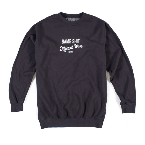 Different Wave Crew Fleece (Charcoal)