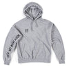 Off My Sleeve Hoodie (Athletic Heather)